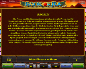 tricks und tipps fur book of ra
